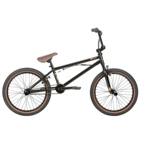Haro 2019 Downtown DLX 19.5 Matte Black BMX bike