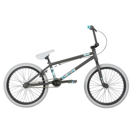 Haro 2019 Downtown DLX 20.5 Matte Black BMX bike