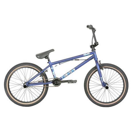 Haro 2019 Downtown DLX 20.5 Matte Blue BMX bike