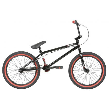 Haro 2019 Boulevard 20.5 Gloss Black BMX bike