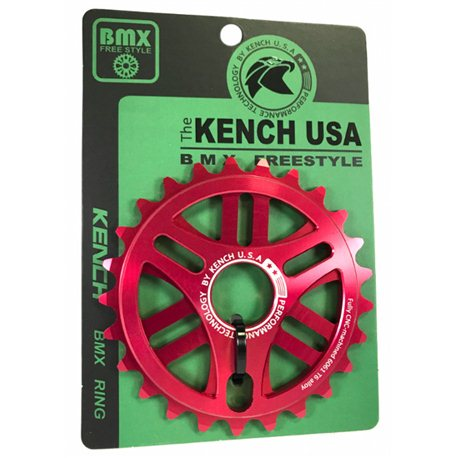 KENCH RN1 25T CNC red sprocket