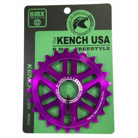 KENCH RN1 25T CNC purple sprocket