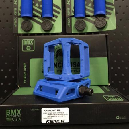 KENCH nylon PC blue pedals