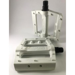 KENCH Slim nylon PC white pedals