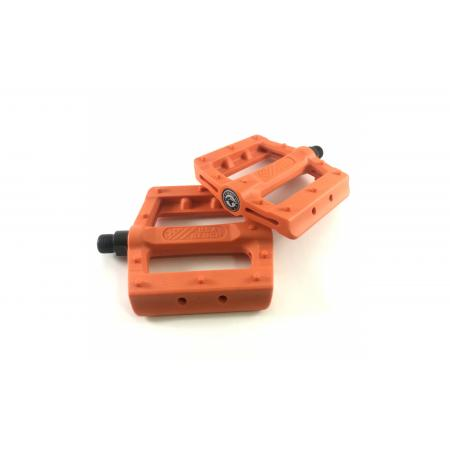 KENCH Slim nylon PC orange pedals