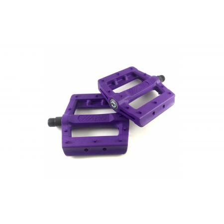 KENCH Slim nylon PC purple pedals