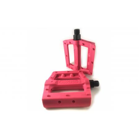 KENCH Slim nylon PC pink pedals