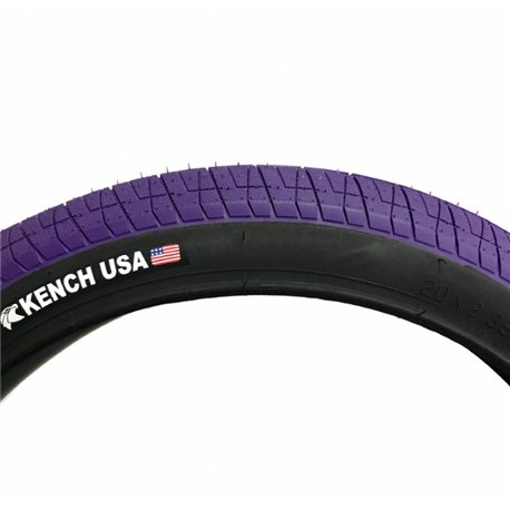 KENCH 2.35 black with purple tire