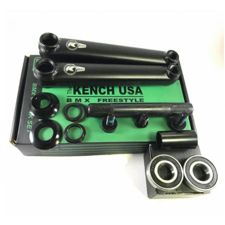 KENCH 3PC 170mm black cranks