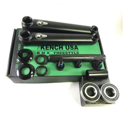 KENCH 3PC 170mm black cranks