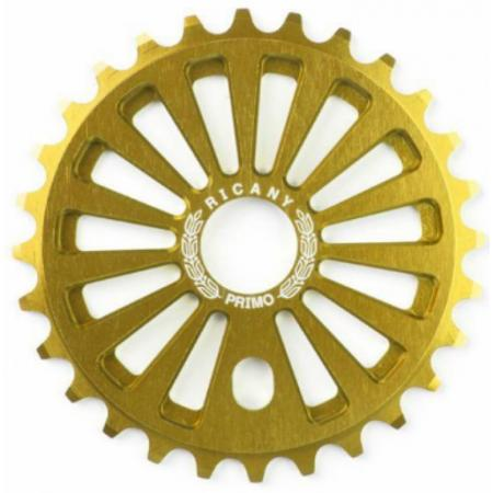 Primo Ricany 25T gold sprocket