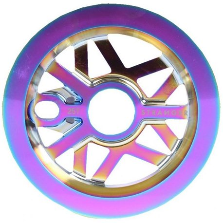 Stranger Strangergram 25T oil slick Guard sprocket