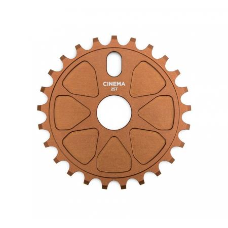 Cinema Rock Bronze 25t Sprocket
