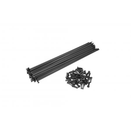 Cinema Stainless 182 Mm. 40pcs. Black Spokes