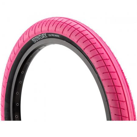 Sunday Street Sweeper 2.4 pink with black wall tire