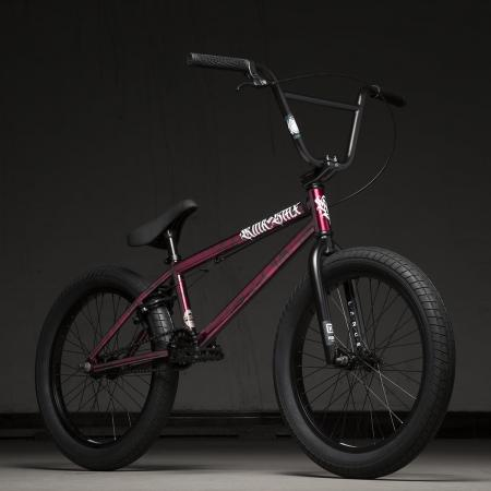 Kink Curb 20 2020 Gloss Smoked Red BMX Bike