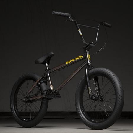 Kink Gap 20.5 2020 Gloss Rootbeer Fade BMX Bike