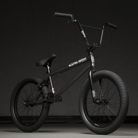 Kink Gap XL 21 2020 Gloss Trans Black BMX Bike