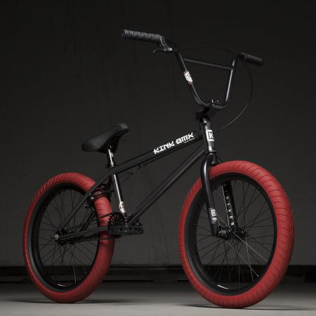 Kink Gap Fc 20.5 2020 Matte Guinness Black BMX Bike