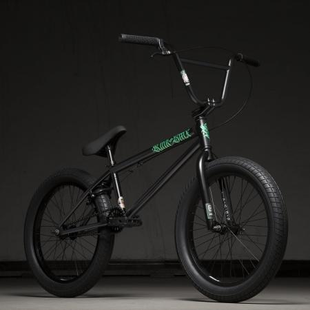 Kink Curb 20 2020 Matte Guinness Black BMX Bike