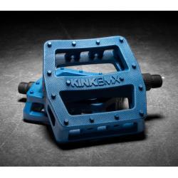 Педали BMX KINK Hemlock синий PC
