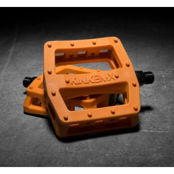 Педали BMX Kink Hemlock оранжевый PC