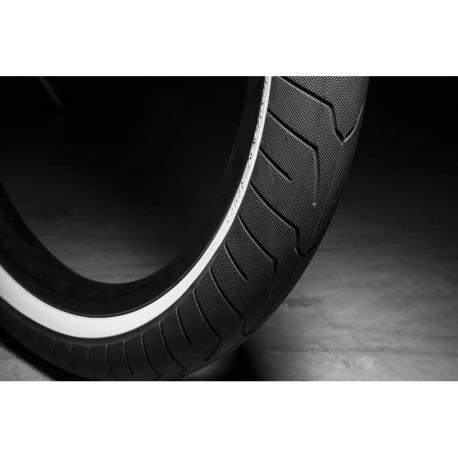 Покрышка BMX KINK Sever 2.4 черный с белый корд