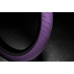 Покрышка BMX KINK Sever 2.4 фиолетовый с черный корд