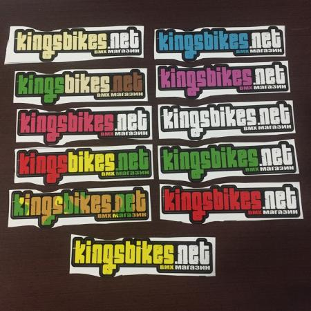 Набор наклеек (stickerpack) KINGS BIKES (КИНГС БАЙКС)