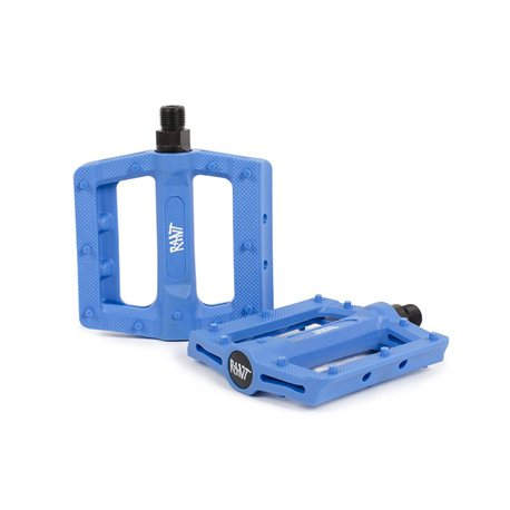 RANT HELLA blue pedals