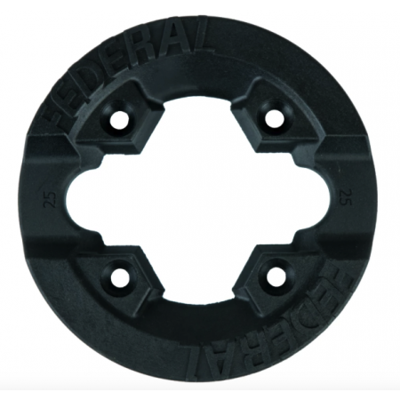 Federal Impact 25T black BMX sprocket guard
