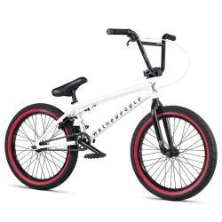 Велосипед BMX WeThePeople NOVA 2020 20 матовый белый