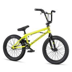 Велосипед BMX WeThePeople CRS FS 18 2020 18 металлик желтый
