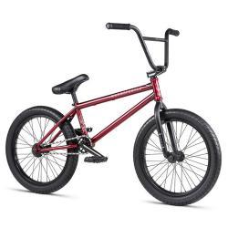 Велосипед BMX WeThePeople JUSTICE 2020 20.75 матовый полупрозрачный красный