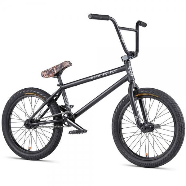 Велосипед BMX WeThePeople CRYSIS 2020 20.5 матовый черный
