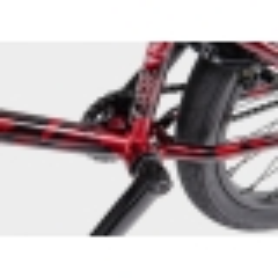 Велосипед BMX WeThePeople VERSUS 2020 20.65 металлик красный