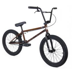 Велосипед BMX CULT CONTROL 2020 20.75 прозрачный коричневый