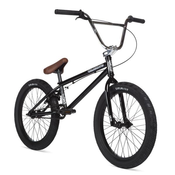Велосипед BMX STOLEN CASINO 2020 20.25 черный с хром