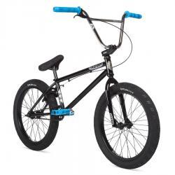 Велосипед BMX STOLEN HEIST 2020 21 черный с синий и хром