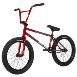 Велосипед BMX STOLEN SINNER FC 2020 21 LHD RoadKill красный с исчезающими брызгами