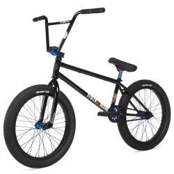 Велосипед BMX STOLEN SINNER FC XLT 2020 21 LHD черный с темными синий анодированые запчасти