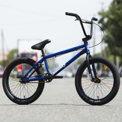 Велосипед BMX Sunday Scout 2020 20.75 матовый полупрозрачный синий