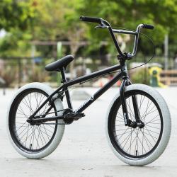 Велосипед BMX Sunday Blueprint 2020 20 матовый черный с белый