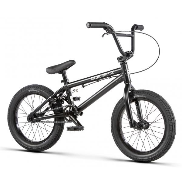 Велосипед BMX Radio DICE 16 2020 16 матовый черный