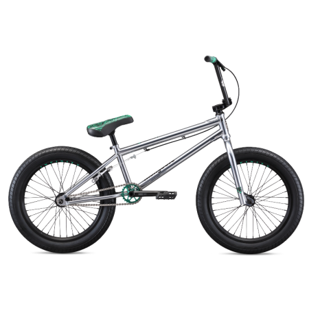 Велосипед BMX Mongoose L500 2020 21 хром