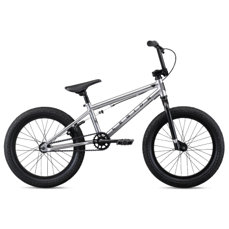 Велосипед BMX Mongoose L18 2020 серебро