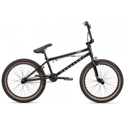 Велосипед BMX Haro Downtown DLX 2020 19.5 глянцевый черный