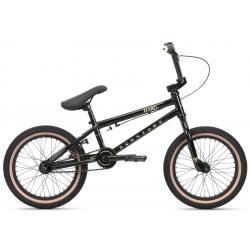 Велосипед BMX Haro Downtown 16 2020 16 глянцевый черный