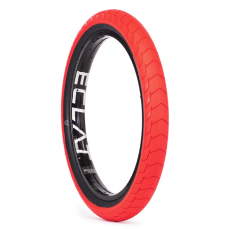 Eclat Decoder Low Pressure 2.4 Red BMX Tire