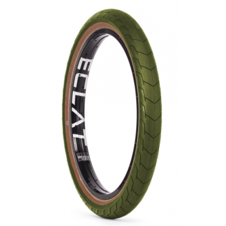Eclat Decoder High Pressure 2.4 Army Green BMX Tire